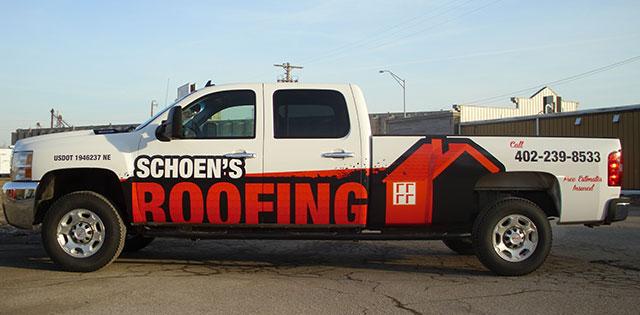 Roofing Vehicle Wrap : Vehicle wraps revolution