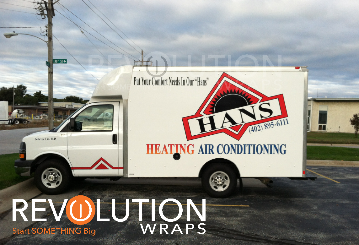 Hans Heating And Air Omaha Revolution Wraps