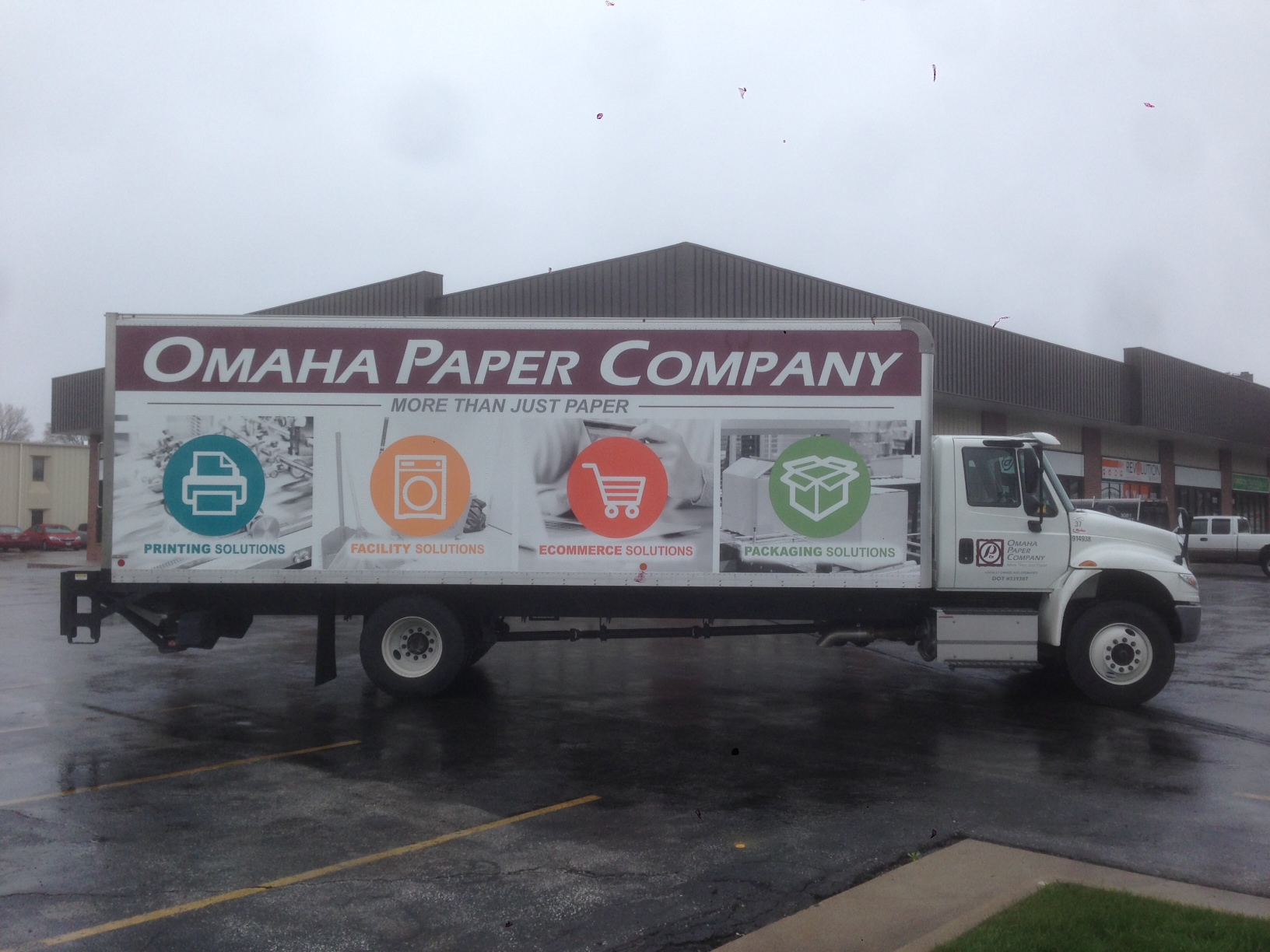 How Box Truck Graphics Improve Your Business - Revolution Wraps