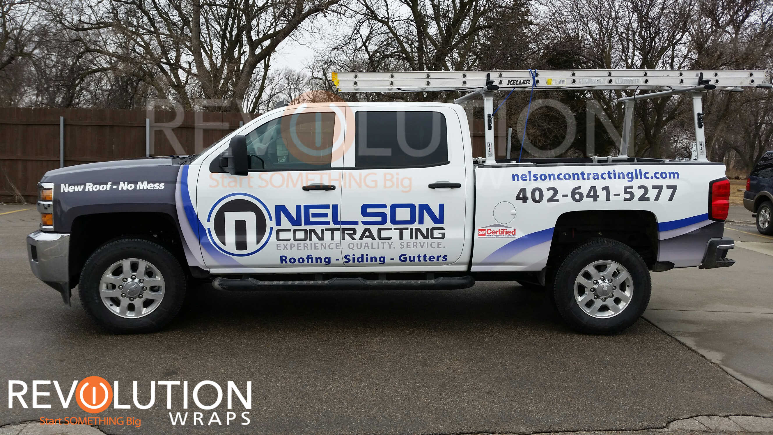 Roofing Company Truck Wraps Creating A Perfect Design