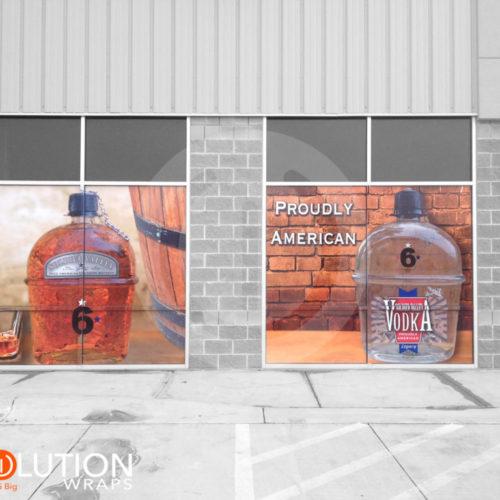 Store window wraps vinyl graphics by revolution wraps