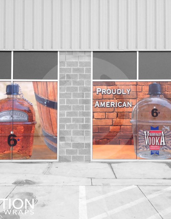 Store window wraps vinyl graphics by revolution wraps