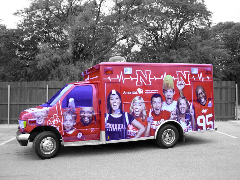 Husker Ambulance Wrap Revolution Wraps