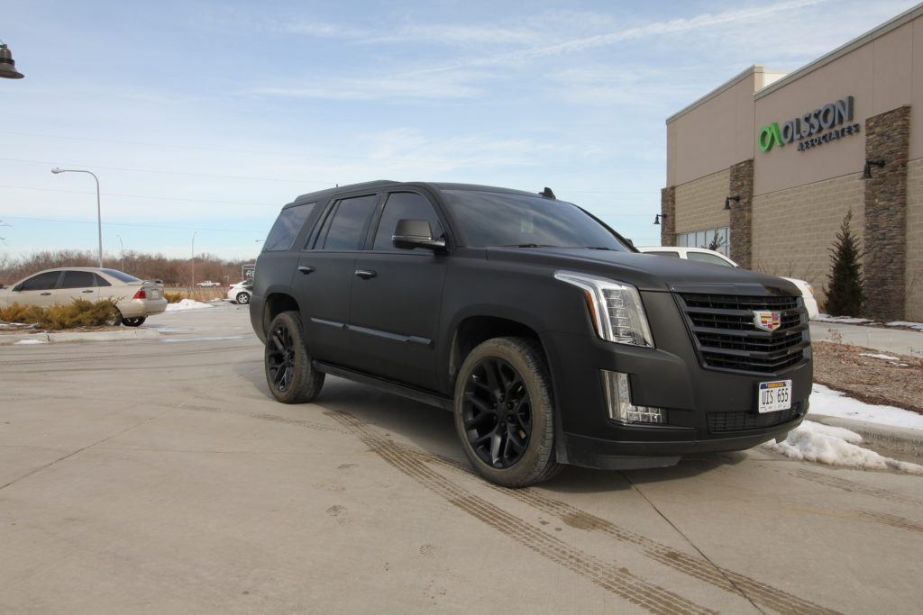 Escalade Matte Black