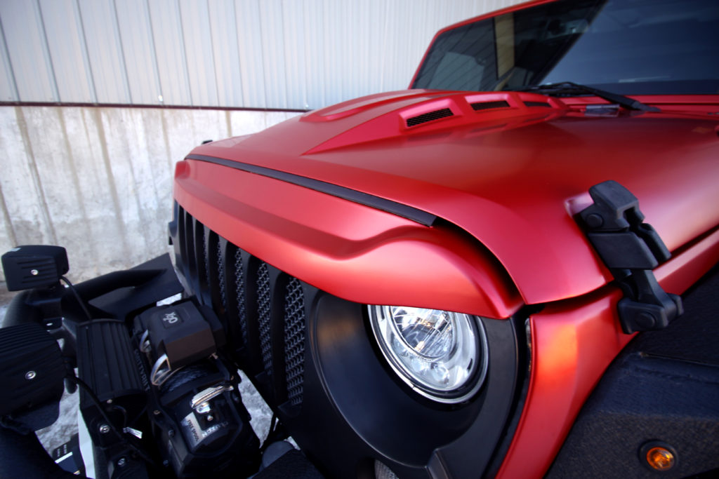 Jeep Wrangler Vampire Red