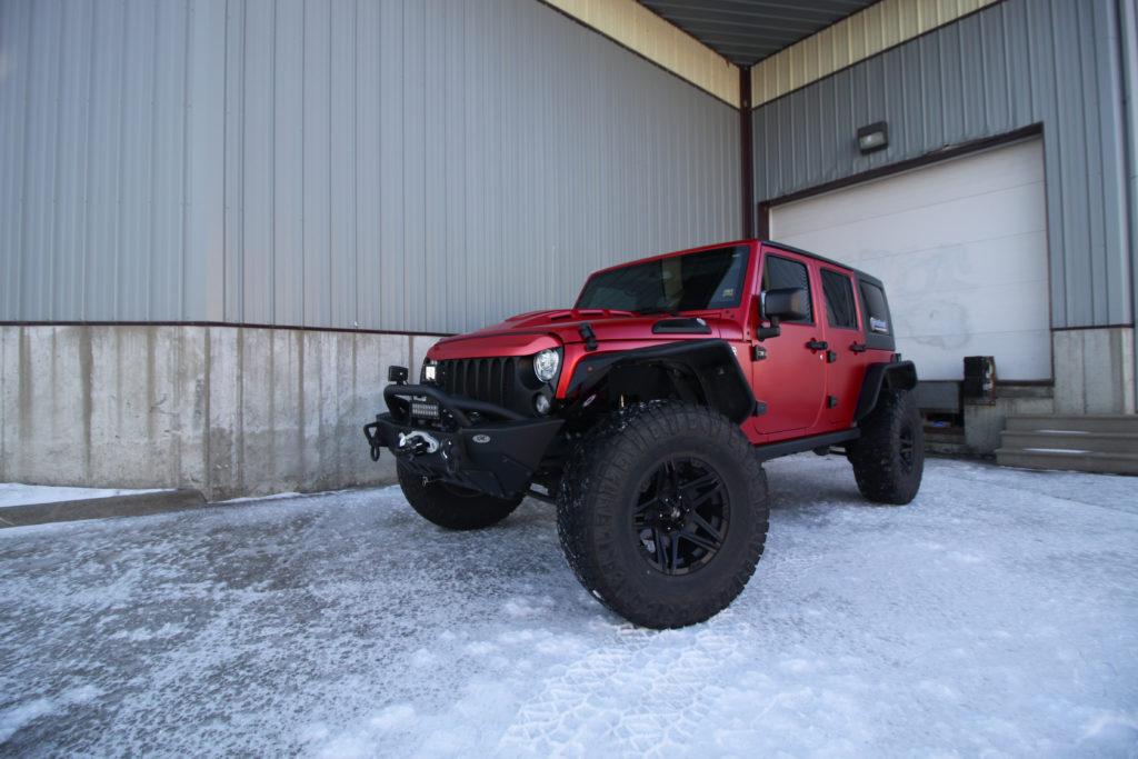Jeep Wrangler Vampire Red