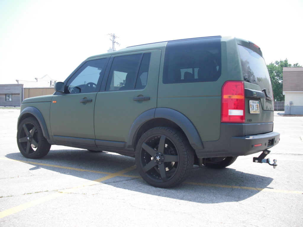 Range Rover – Color Change