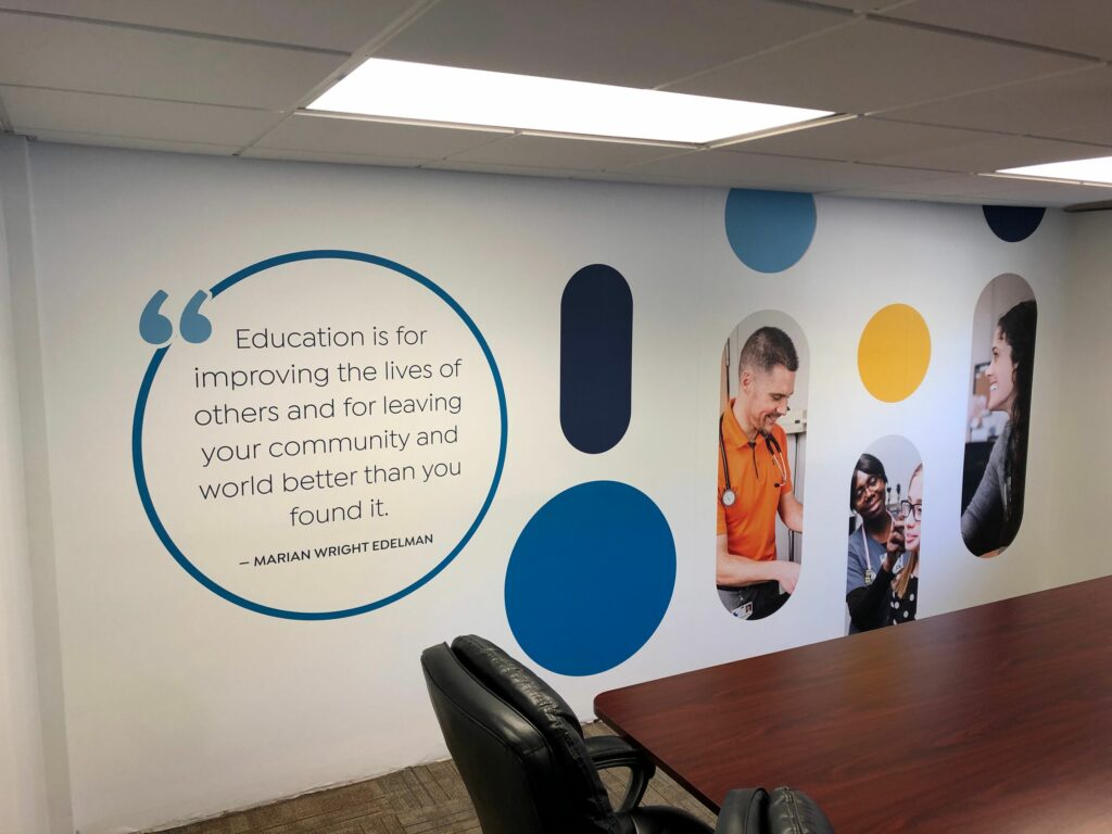 Clinic Remodel Wall Graphics