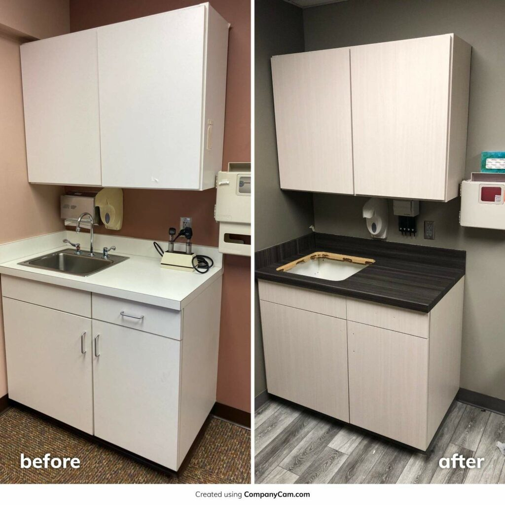 Health Clinic Office Remodel