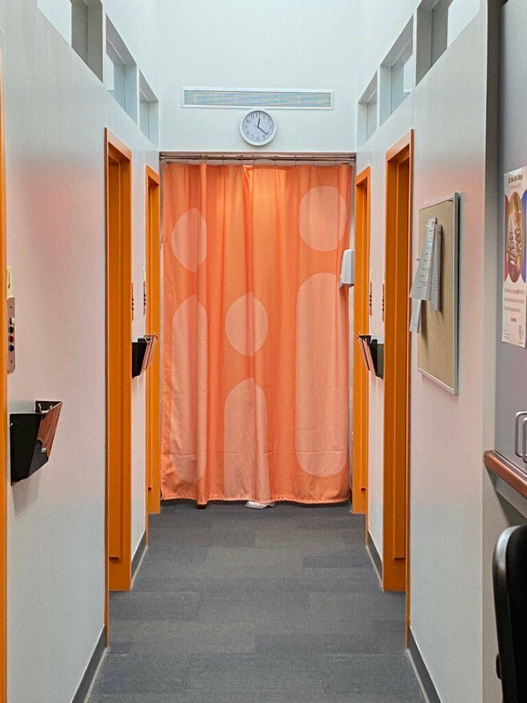 Custom Clinic Curtains