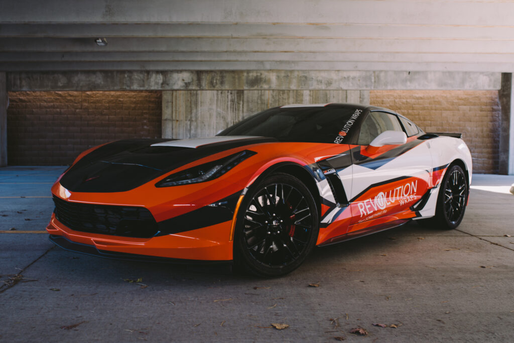 Revolution Wraps Corvette