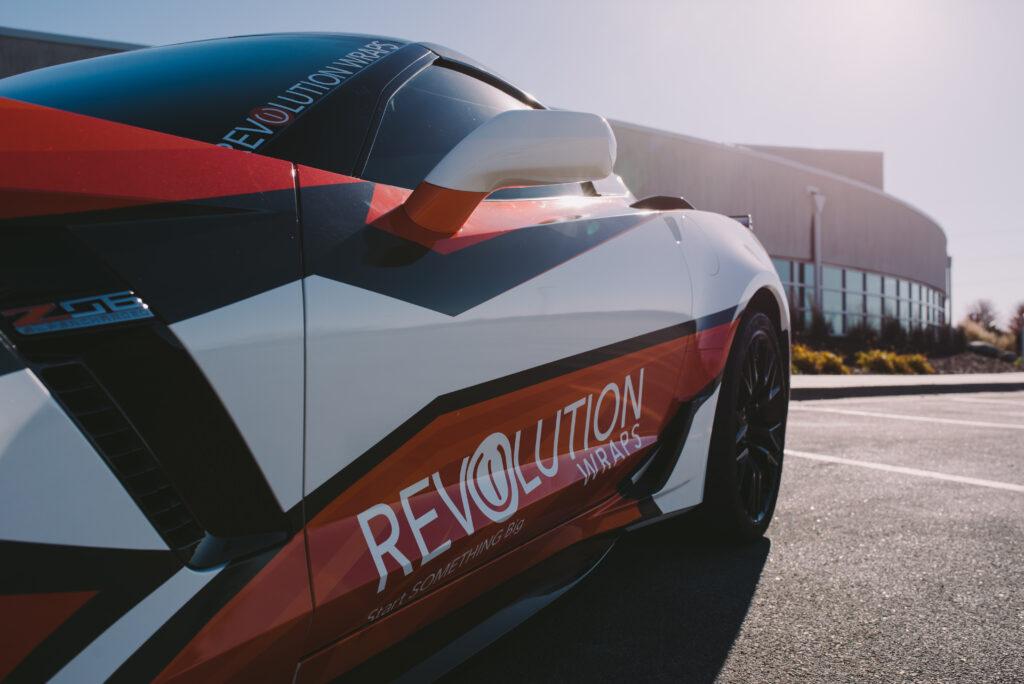 Revolution Wraps Corvette Side